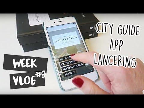 WEEKVLOG 9: de lancering van mijn city guide app & heel veel shoppen! // Your Little Black Book