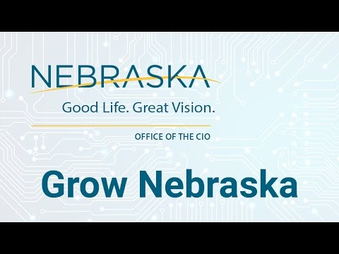 State of Nebraska, Office of the CIO: ECM - Grow Nebraska 10/24/2016