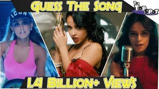 2019 GUESS THE SONG CHALLENGE! - (1.4+ BILLION YT Views Edition)