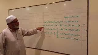 تتمة دروس تحسين دورة الخط العربي ياسين شاكر