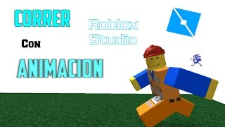 Tutorial Roblox STUDIO English: How to Run with Animation Included (ONLY R6)