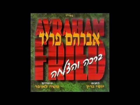 אברהם פריד - ברכה והצלחה - avraham fried - bracha & hatzlacha