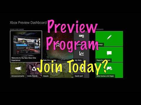 How to JOIN the Xbox One Preview Program! INVITING - 2016!