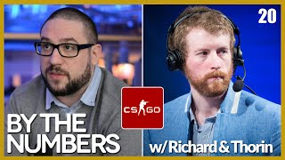 [E20] By The Numbers: CS:GO with Richard Lewis and Thorin | Alphadraft Podcast Episode 20