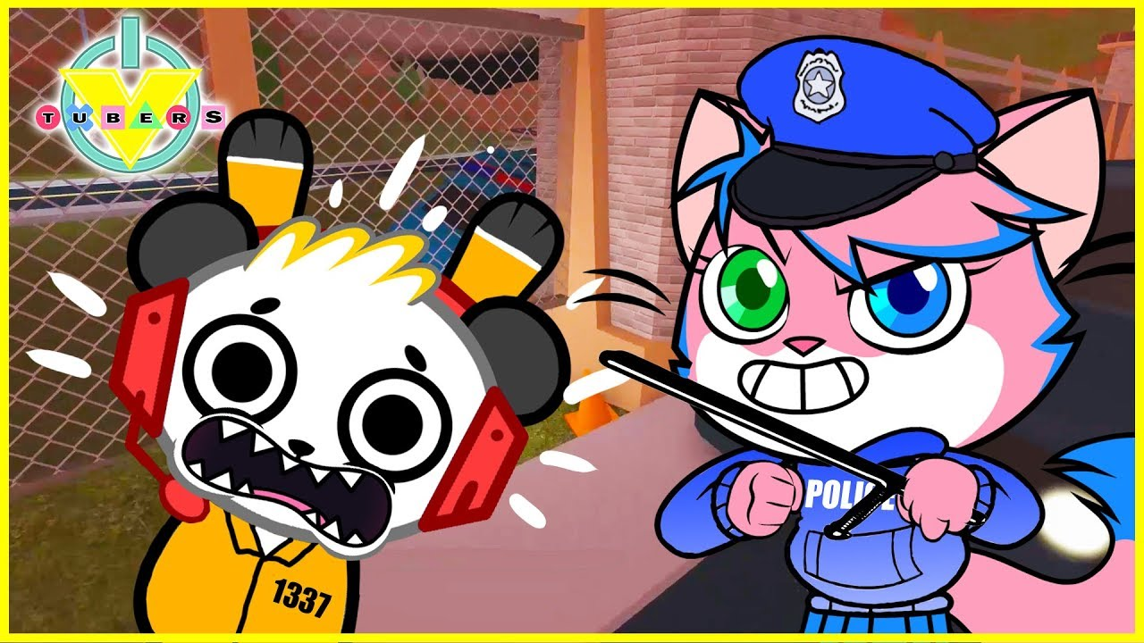 roblox jailbreak let's play  vtubers combo panda vs