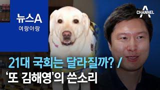 [여랑야랑]21대 국회는 달라질까? / '또 김해영'의…