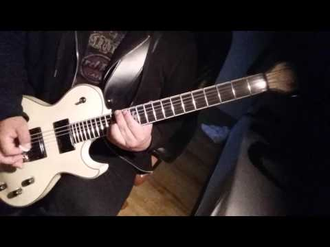 Hatesphere - Heaven is ready to fall (guitar cover)