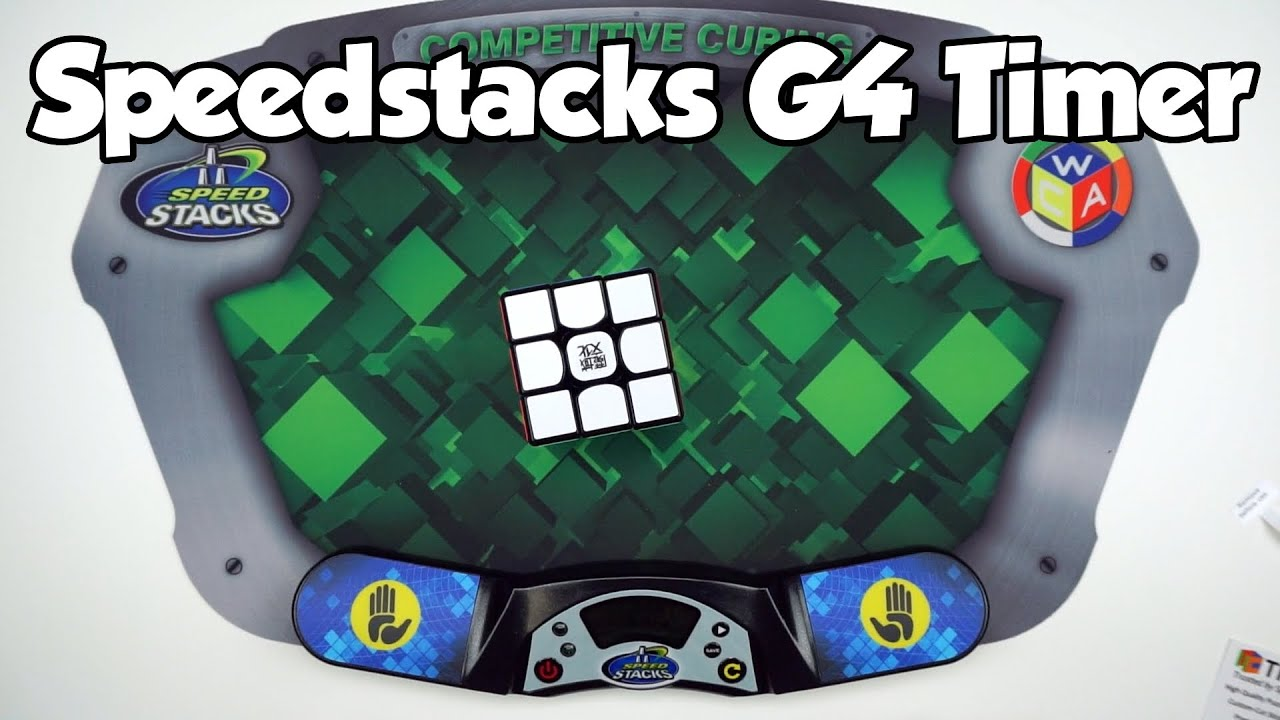 G4 Graphite Speed Stacks Pro Cubing Pack