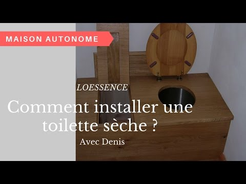 comment fabriquer construire wc toilette s che simple s. Black Bedroom Furniture Sets. Home Design Ideas