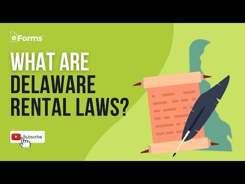 Delaware Rental Laws - EXPLAINED