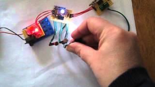 RGB led - light sensitive