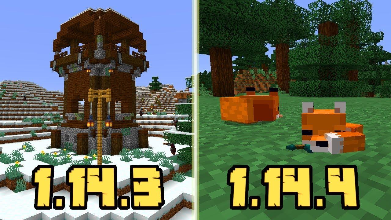Minecraft 1.14.3 i 1.14.4: Co Nowego?! *Nowinka o 1.15 ...
