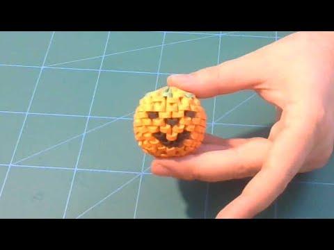 3D origami small  Halloween pumpkin tutorial || DIY paper Halloween pumpkin