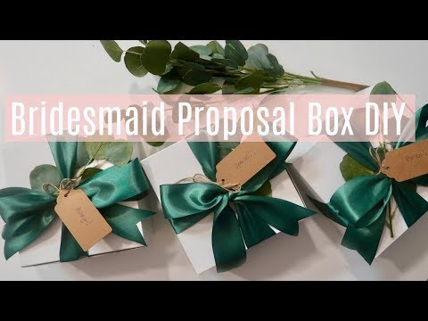 Will You Be My Bridesmaid? Luxury & Unique Gift Box Idea
