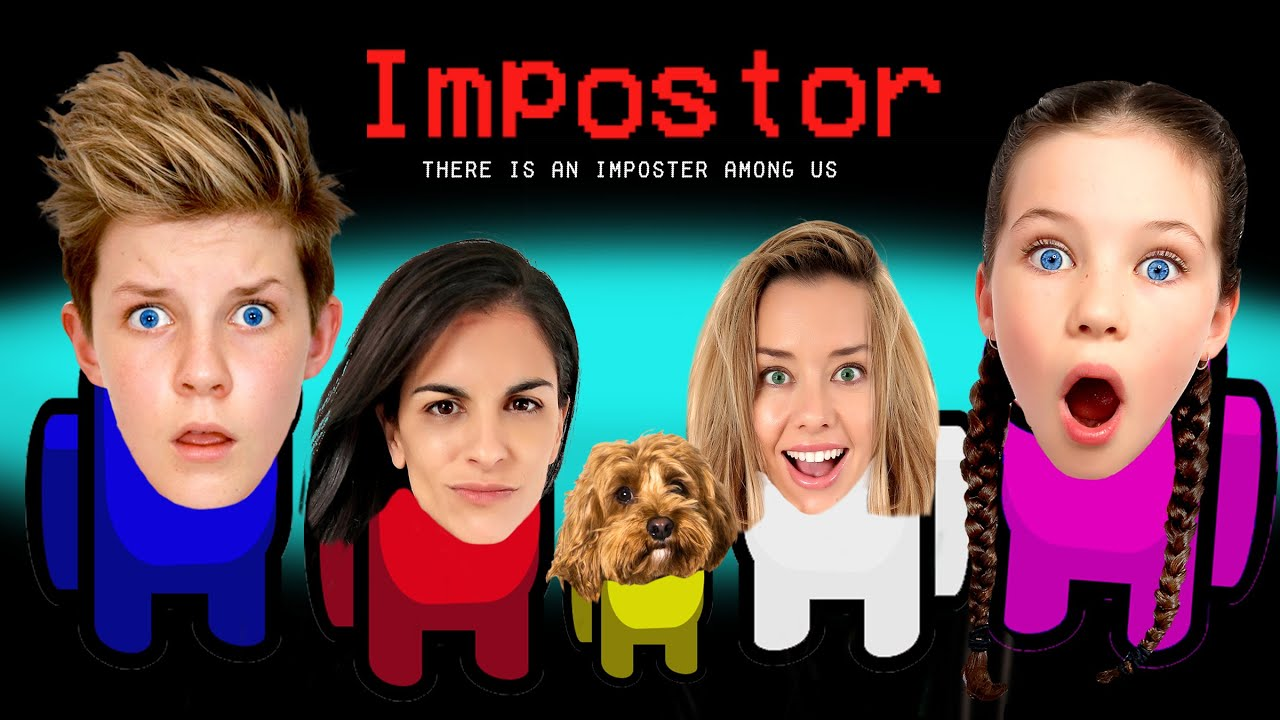 We Played AMONG US in REAL LIFE!! Imposter IQ 999+ Empire Family w/Prezley & Miss Charli