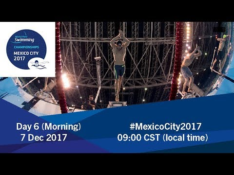 World Para Swimming Championships | Mexico City 2017 | Day 6 Morning