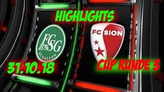 Highlights: Fc St.Gallen vs Fc Sion (01.11.18)