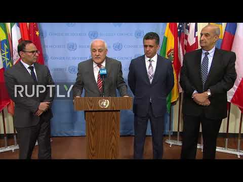 UN: Palestine condemns Israels aggression in strongest possible terms