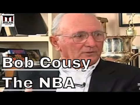 The NBA: Cousy, Berkow and Williams on  Michael Jordan & Basektball on The World Stage