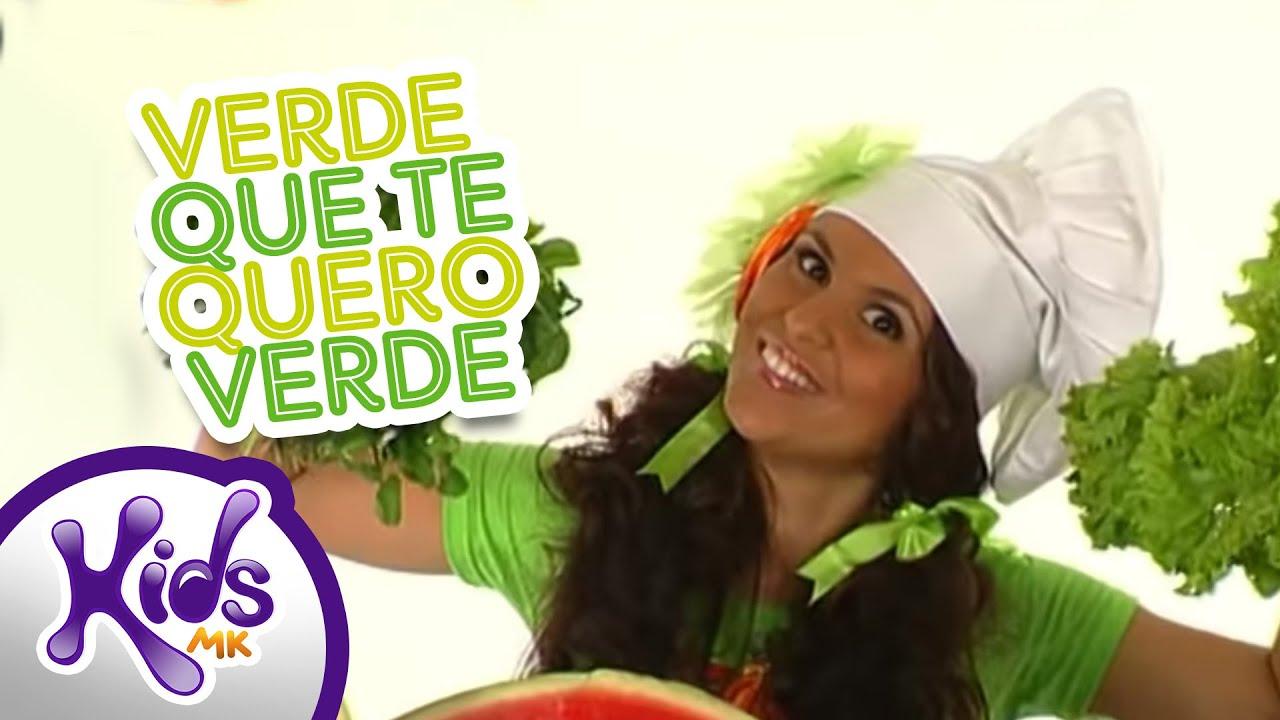 Verde Que Te Quero Verde Aline Barros E Cia Oficial Youtube