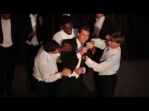 """The Yale Wiffenpoofs Perform """"Midnight Train To Georgia"""" at Bristol, CT's Memorial Boulevard Theatre"""