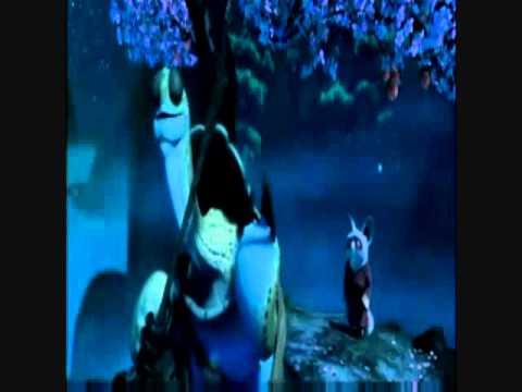 Kong Fu Panda Clip - Master Oogway hears bad news