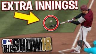 Insane Extra Inning Thriller! MLB The Show 18   Battle Royale