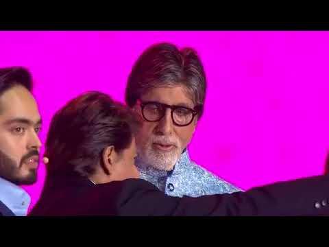 Amitabh Bachchan, Shah Rukh Khan Host Reliance RIL 40 Years at mumbai