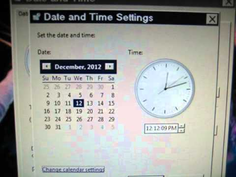 12/12/12 @ 12:12:12 (Eastern Time Zone)