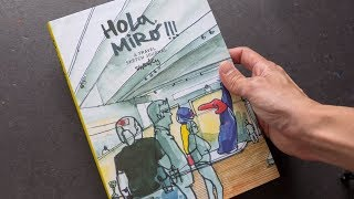Review: Hola, Miró!!! A Travel Sketch Journal by Swasky