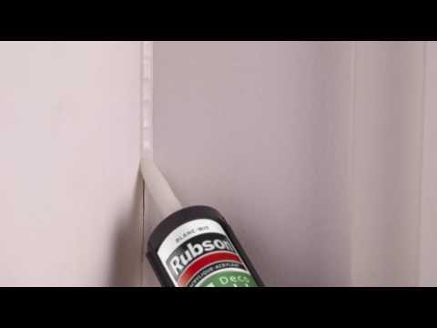 How To: Een scheur in de muur vullen