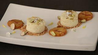Phirni Cake With Mini Malpua