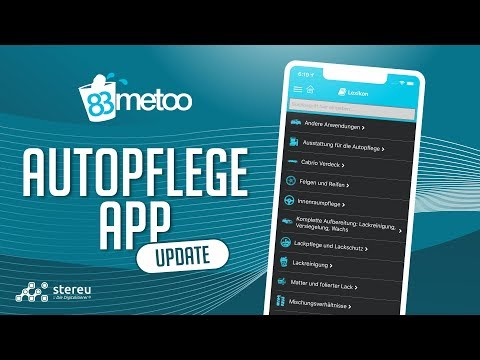 83metoo AUTOPFLEGE App - das Neueste UPDATE
