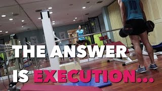 LEGS WORKOUT - THE ANSWER IS EXECUTION | SAIF