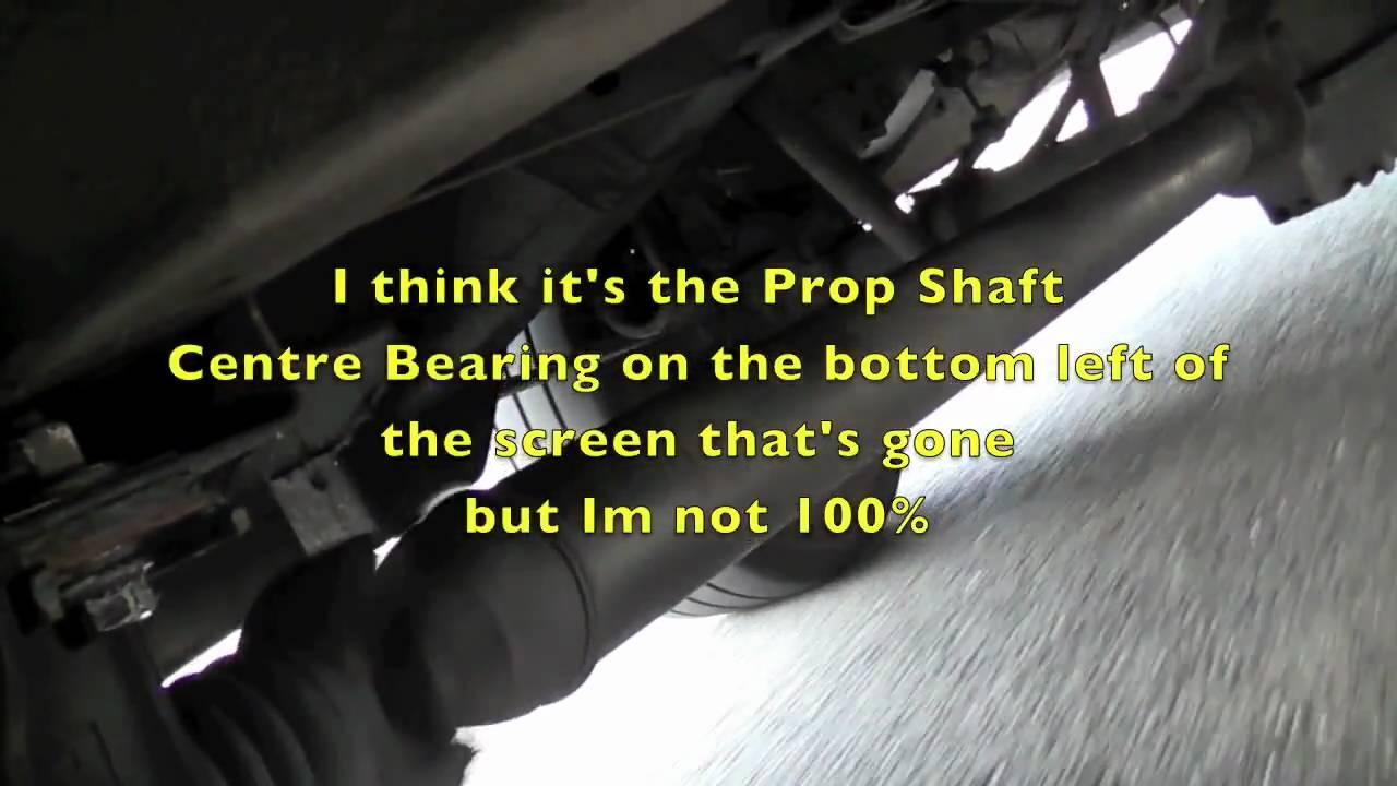 Mercedes Sprinter - Prop Shaft Noise