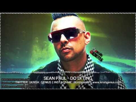 Sean Paul - Do Di Ting [Raw Cut Riddim] June 2013