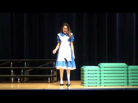 "Menlo Park Elementary School Drama Club Presents: ""Alice in Wonderland Jr."""