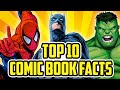 Top 10 Comic Book Facts EVERYONE Should Know (According to YOU!) | feat. Tim Schmoyer