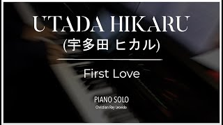 "Utada Hikaru - ""First Love""[[piano cover]]"