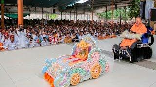 Rathyatra - Guruhari Darshan 18 Jul 2015, Sarangpur, India