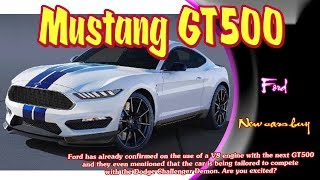 2020 Ford Mustang Gt500   2020 Ford Mustang Shelby GT350   2020 Ford Shelby Cobra   new cars buy