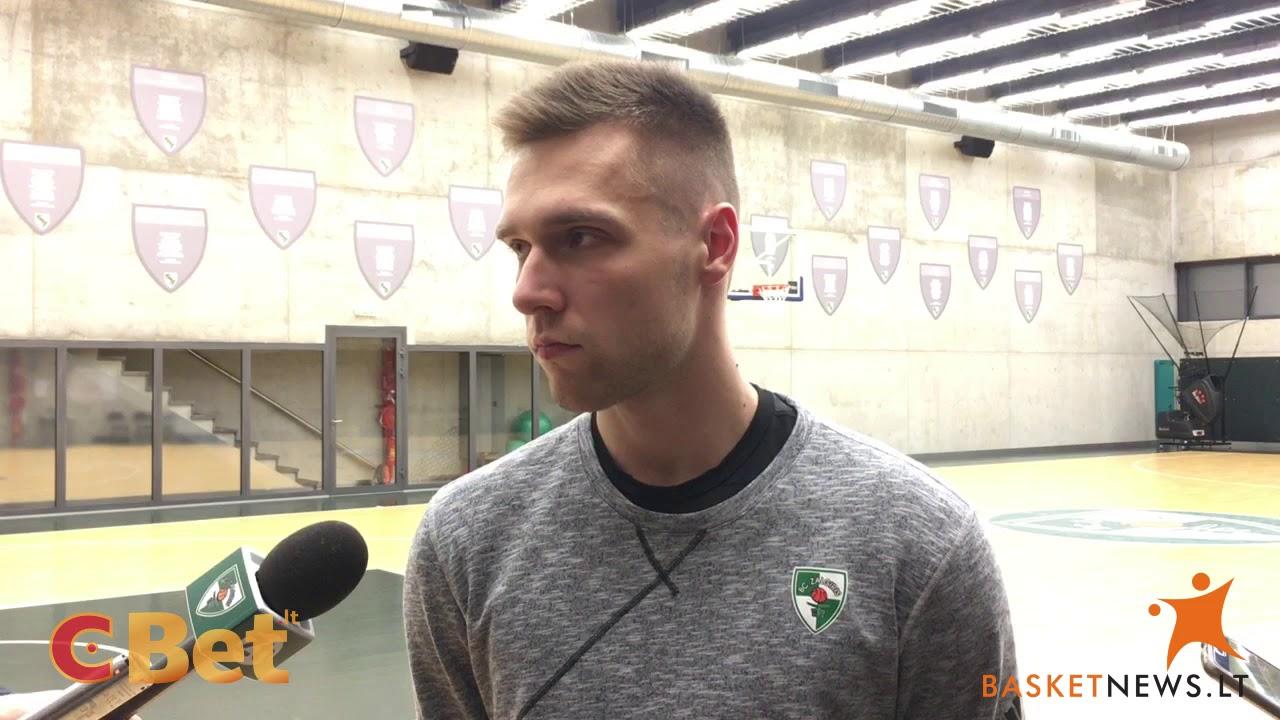 """Paulius Valinskas: """"Džiugu, kad klubas manimi patikėjo"""""""