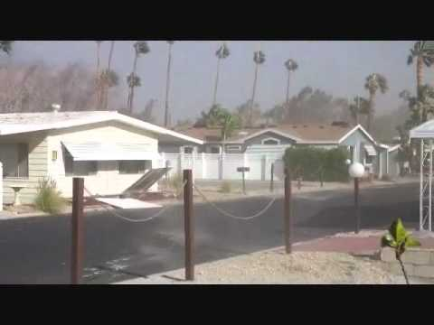Wind Storm Palm Springs January 21 2012.wmv