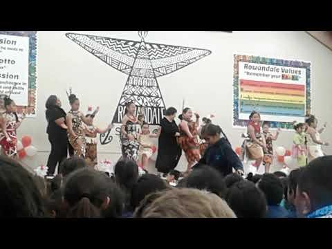Rowandale Primary School- 3 Tongan Language week