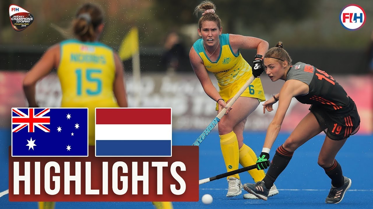 Australia v Netherlands | 2018 Women's Champions Trophy | HIGHLIGHTS