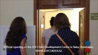 JOY Child Development Centre. Official Opening.