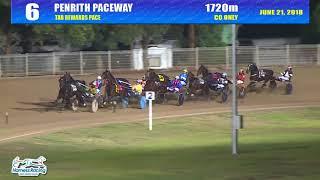 PENRITH - 21/06/2018 - Race 6 - TAB REWARDS PACE