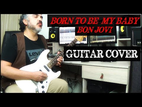 BORN TO BE MY BABY (Cover by Héctor Saavedra)