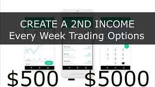 How to make consistent income every Week trading Options in RobinHood MUST SEE