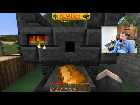 Mining and Metallurgy Minecraft RDAllen Live 03 06 2018